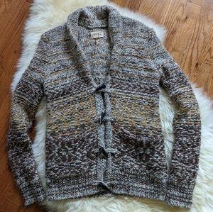 Aritzia Wilfred free knit cardigan sweater